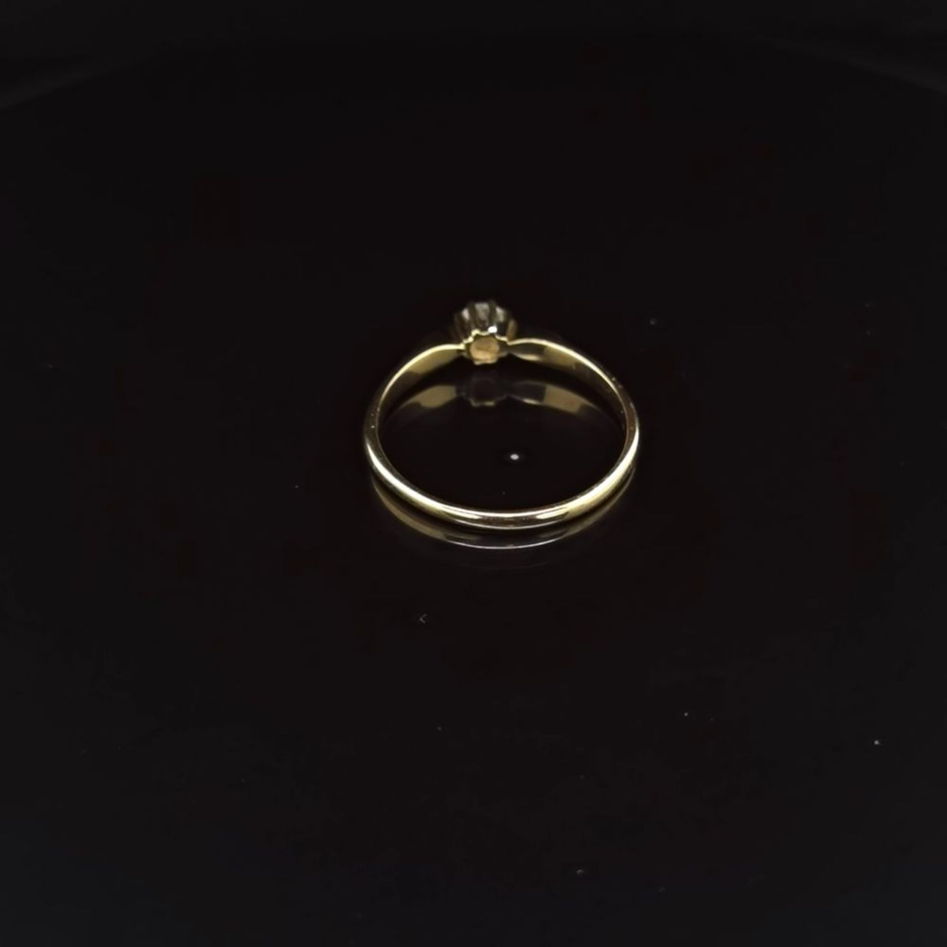 Brillant-Ring, 585 Gelbgold 2,3 - Image 3 of 3