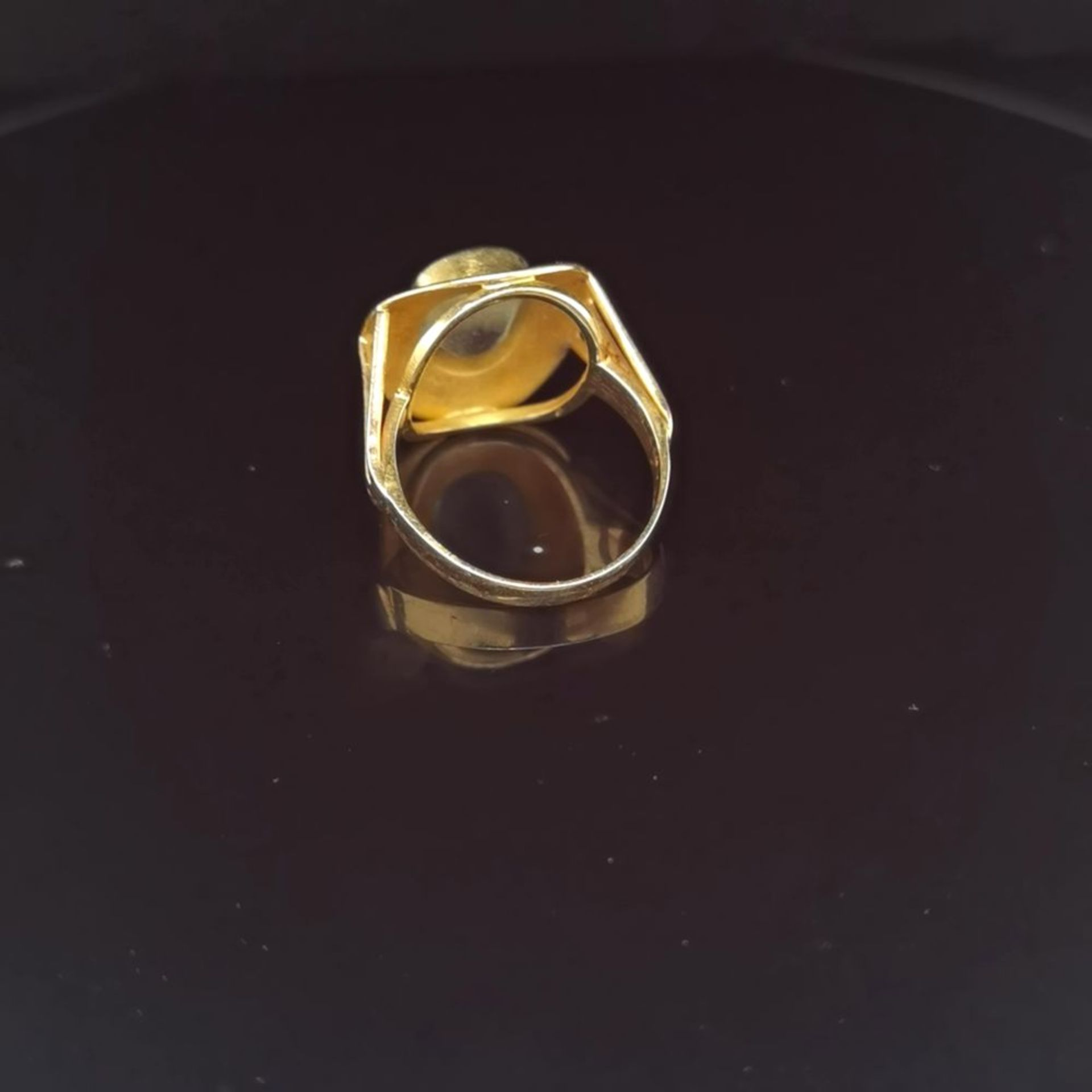Aquamarin-Ring, 585 Gelbgold 5,7 - Image 3 of 3