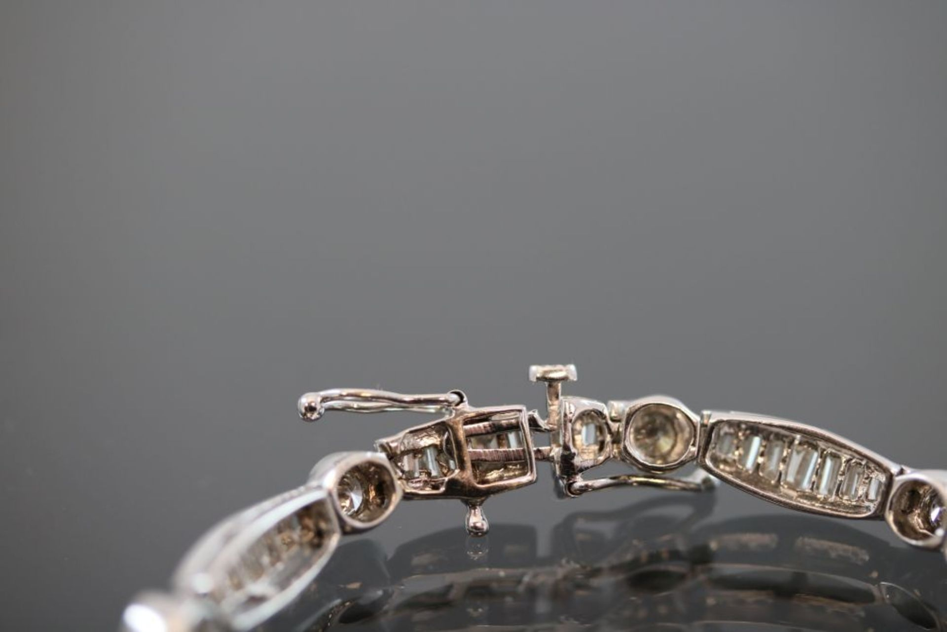 Brillant-Diamant-Armband, 750 Weißgold - Image 2 of 3