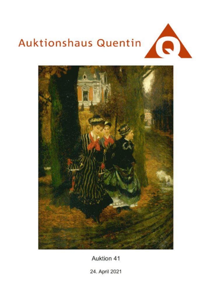 41. Auktion Kunst und Antiquitäten