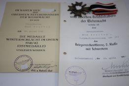 2 Urkunden Gruppe mit KVK 2. Klasse
