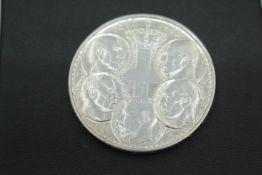 30 Drachmen 100 Jahre Griechisches Königshaus 1863-1963 Silber 18gr.Brutto