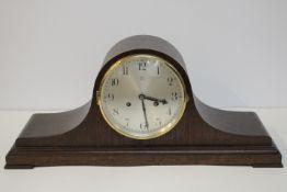 Junghans Büffetuhr wohl um 1940 Halbstundenschlag auf Tonfeder Intakt Guter Zustand Länge : 60cm