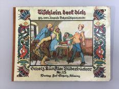 """""""Tischlein deck dich"""" Scholz`Künstler -Bilderbücher Nr. 15, gez. Urpad Schmidhammer, gebraucht,"""