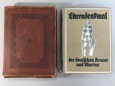 """""""Ehrendenkmal der deutschen Armee u. Marine von 1871 - 1918"""" Schriftleitung General d. Inf.a.D. v."""