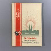 """Turnverein """"Gut Heil"""", Oelsnitz i.V., 50 Jahre Vereinsgeschichte v. 1882-1932, herausg.z."""