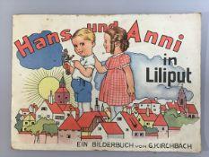 """""""Hans und Anni in Liliput"""", Bilderbuch von G. Kirchbach, gebraucht, guter Zustand"""