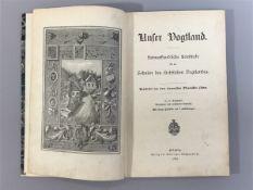 """""""Unser Vogtland"""", Heimatliche Lesestücke f.d. Schulen des sächs. Vogtl., bearb. v. einer"""