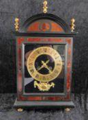 Konsoluhr, Nussbaum, französisch, um 1845, Martinot Paris, prämiertes Uhrwerk Medaille de Bro