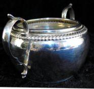 Zuckerschale Sterling Silber 925, Gorham 480 9, Anker u.a. Punzen, englisch Gewicht 126 g<br