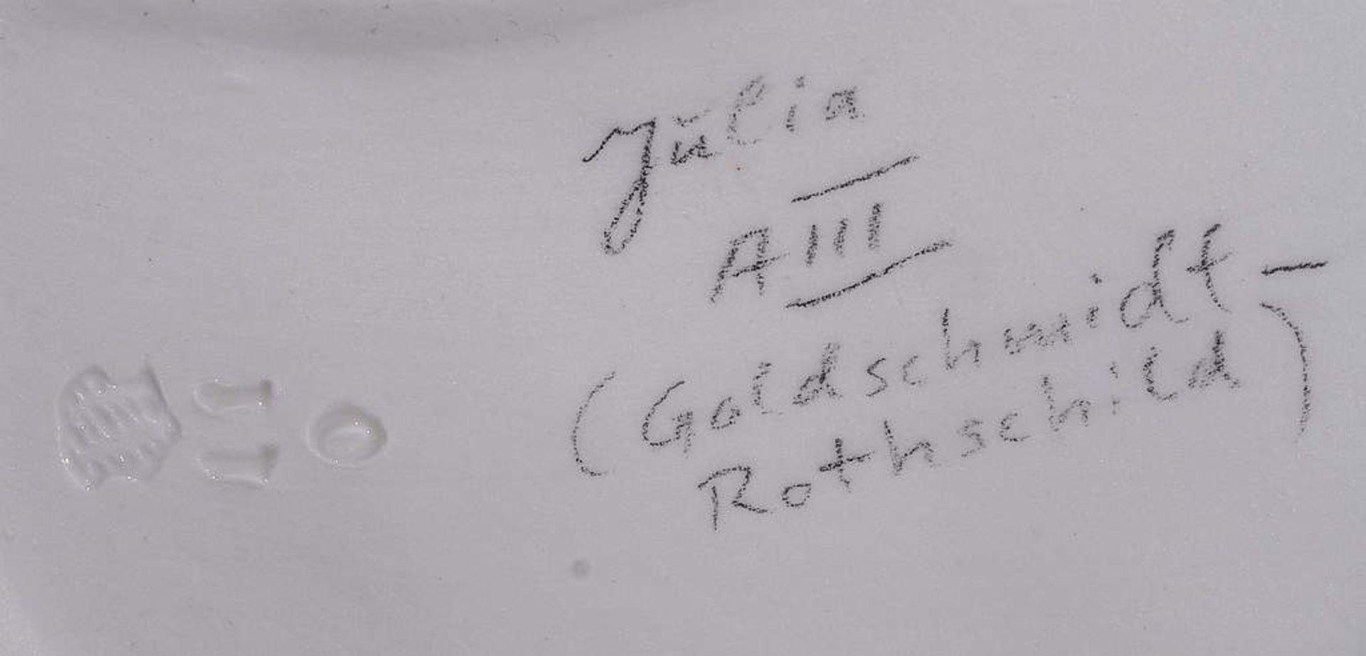 "Kommödiantenfigur ""Julia"". NYMPHENBURG. - Image 8 of 9"