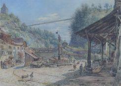ALT, Franz. 1821 Wien - 1914 Wien.