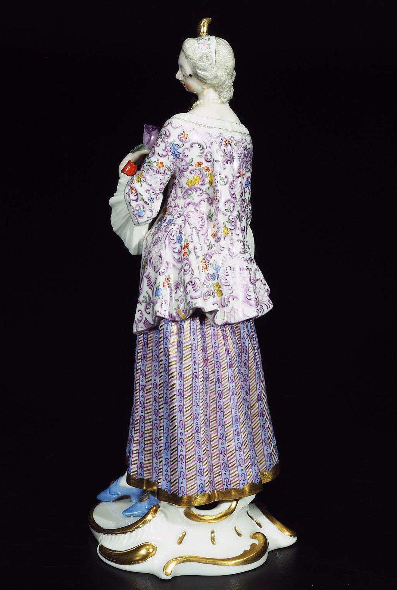 LUCINDA, Figurine der Commedia dell'Arte, NYMPHENBURG, Jahrhundert. - Image 4 of 8