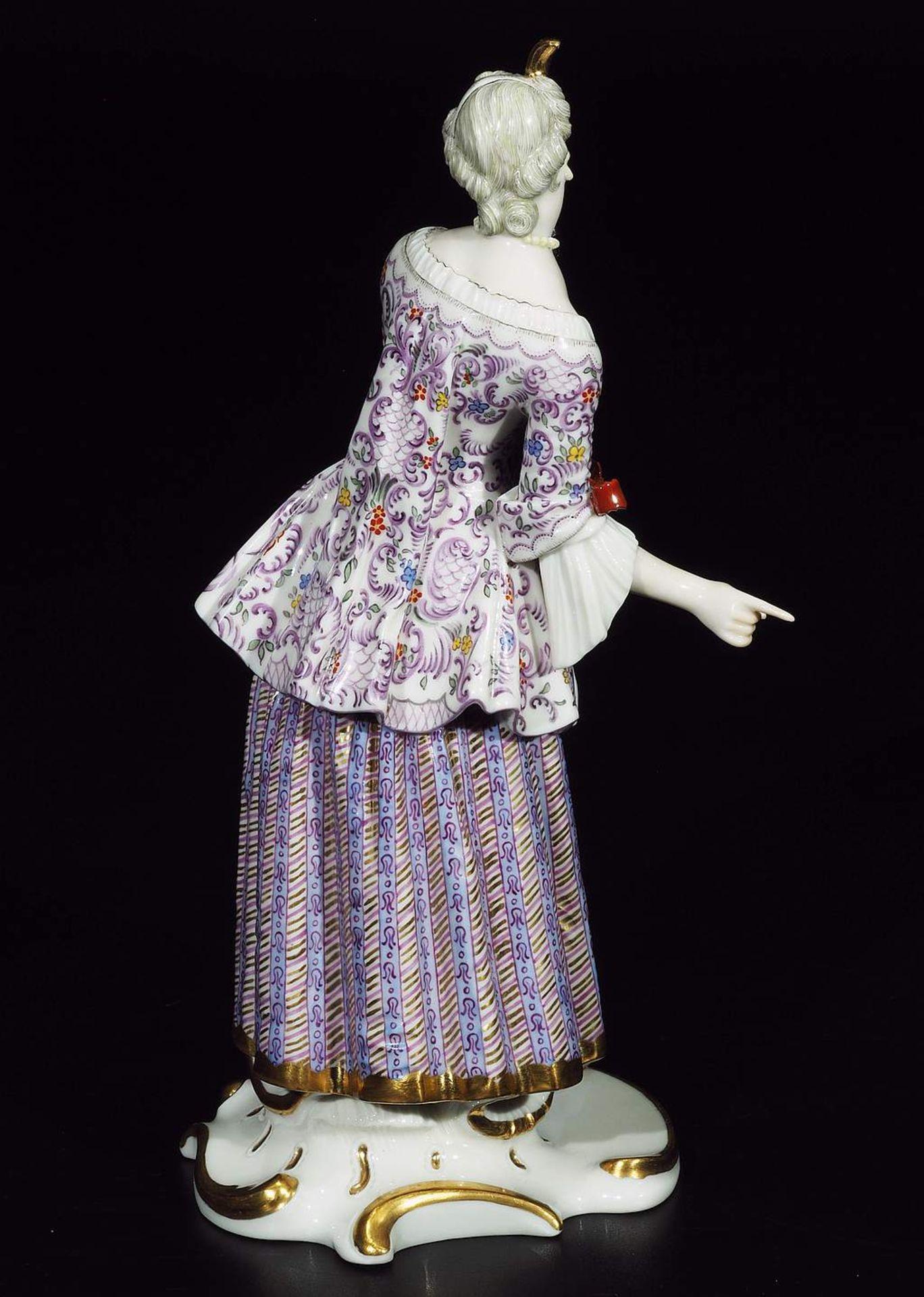 LUCINDA, Figurine der Commedia dell'Arte, NYMPHENBURG, Jahrhundert. - Image 5 of 8