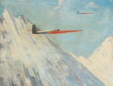 """Monogrammist """"Airplanes in the Mountains"""","""
