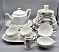 Rosenthal Maria Porzellan Service 1 Kanne, 4 Schalen, 3 Suppenteller, 3 Essteller, 3 Suppenschüssel