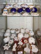 1 Konv. Weihnachts-/Osterschmuck Porzellan u.a. UNTERWEISSBACHER WERKSTÄTTEN u.a.z.T.