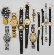 1 Konv. Armbanduhren Edelstahl Metall u.a. MAURICE LACROIX u.a. versch. Hersteller/Gr