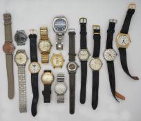 1 Konv. Armbanduhren versch., z.T. Gsp.