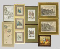 1 Konv. Nachdrucke 20. Jh. von Werken des Künstlers Giovanni Battista PIRANESI ( wohl 1720-1778