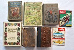 """1 Konv. Bücher 19. Jh. u.a.: """"Die Bibel, oder die ganze Heilige Schrift, Nürnberg 18"""