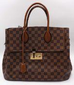 1 Damenhandtasche LOUIS VUITTON Ascot Damier mit orig. Kassenbeleg, gekauft 2014 für