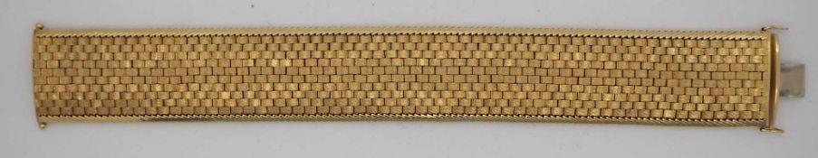 1 Damenarmband GG 18ct.