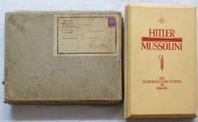"""1 Raumbildwerk """"Hitler - Mussolini. Der Staatsbesuch des Führers in Italien von Heinrich Hansen"""