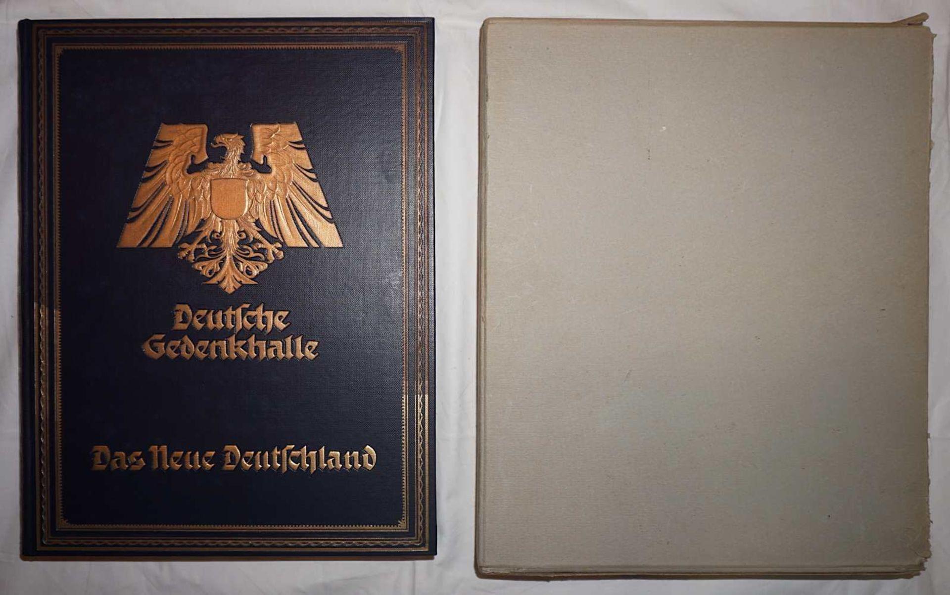 """1 Buch """"Deutsche Gedenkhalle/Das Neue Deutschland"""" Hrsg. General D. Inf. A.D. von EISENHART ROTH"""