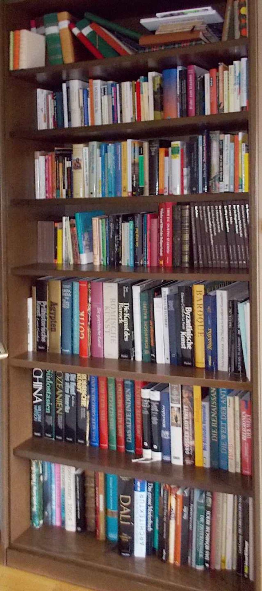 1 Bibliothek bestehend aus ca. 1000 Büchern nztl. Bildbände, Religion und Theologie, - Bild 2 aus 8