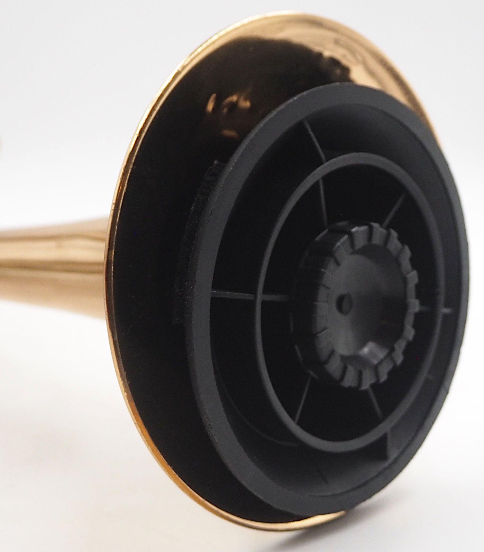 """1 Trompete SCHMIDTCO """"New Star"""" nztl. Messing, mit 3 Ventilen, L ca. 54cm, mit Trageko - Bild 2 aus 5"""