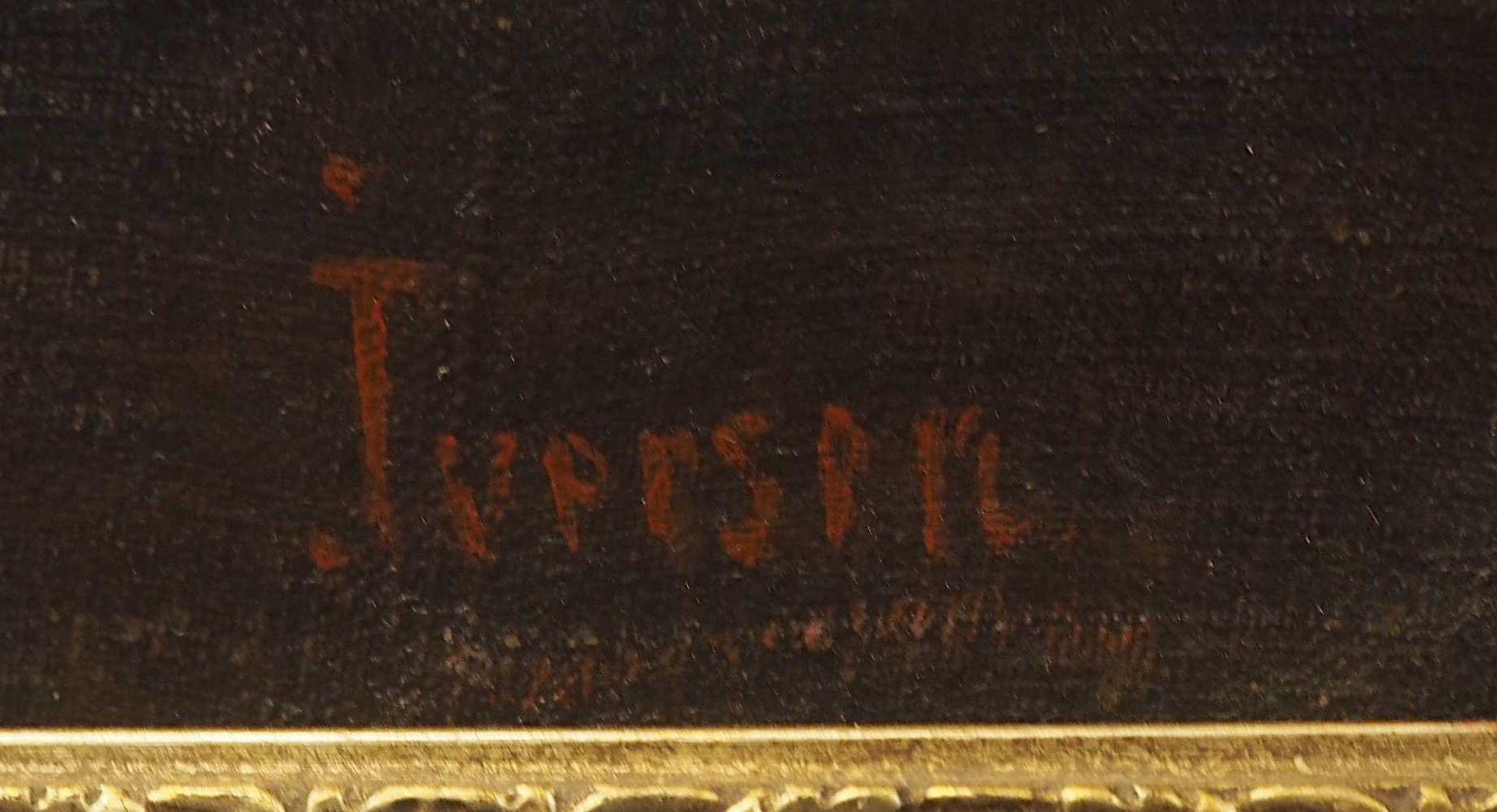 """1 Ölgemälde R.u. sign. IVERSEN (wohl Helene I. 1870 bis ca. 1930), """"Stillleben mit Apfelblüte - Bild 3 aus 8"""