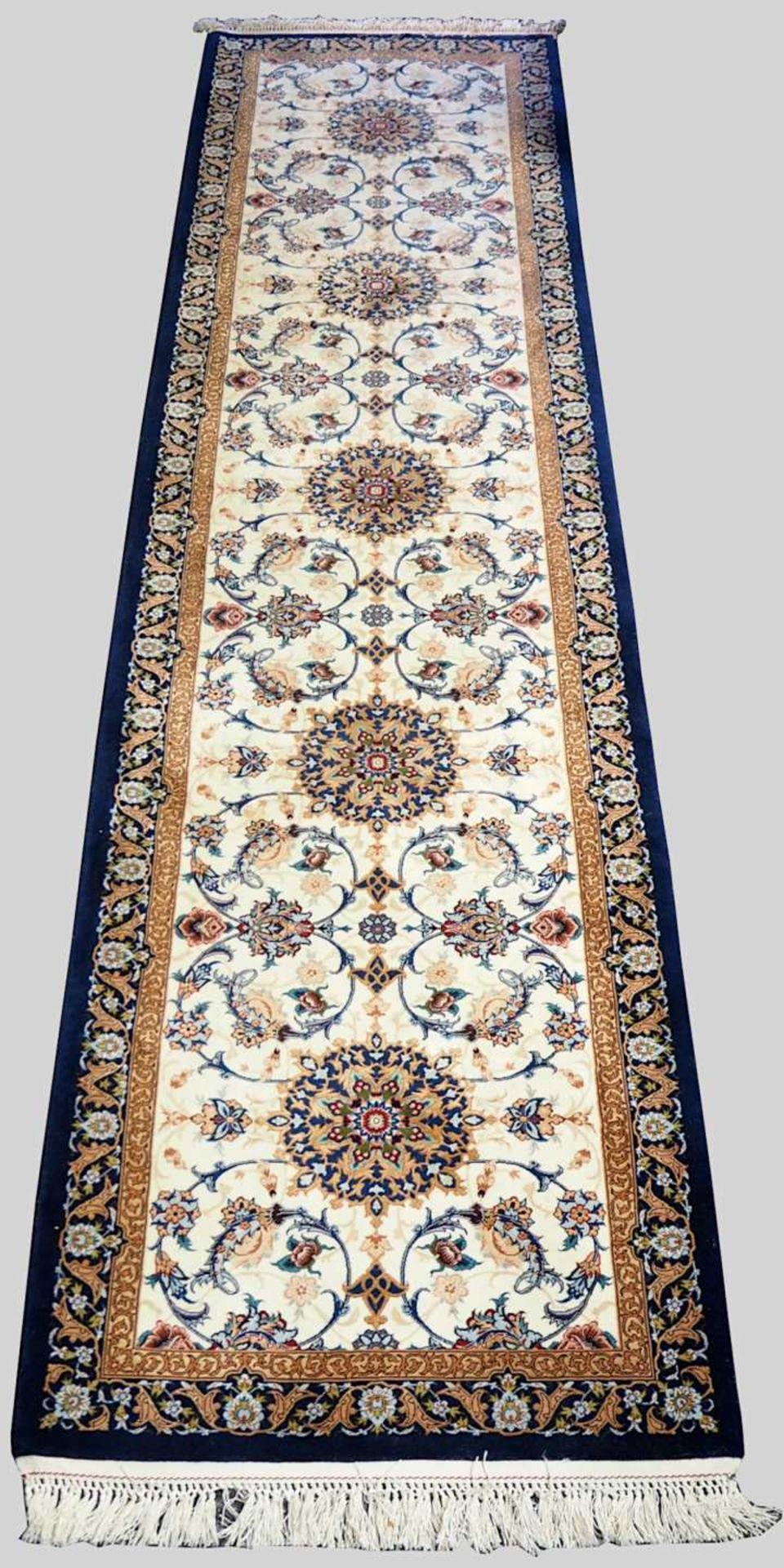 1 Orientgalerie ISFAHAN, Persien Korkwolle mit Seide ca. 1000 000 Knoten/qm², Mittelf
