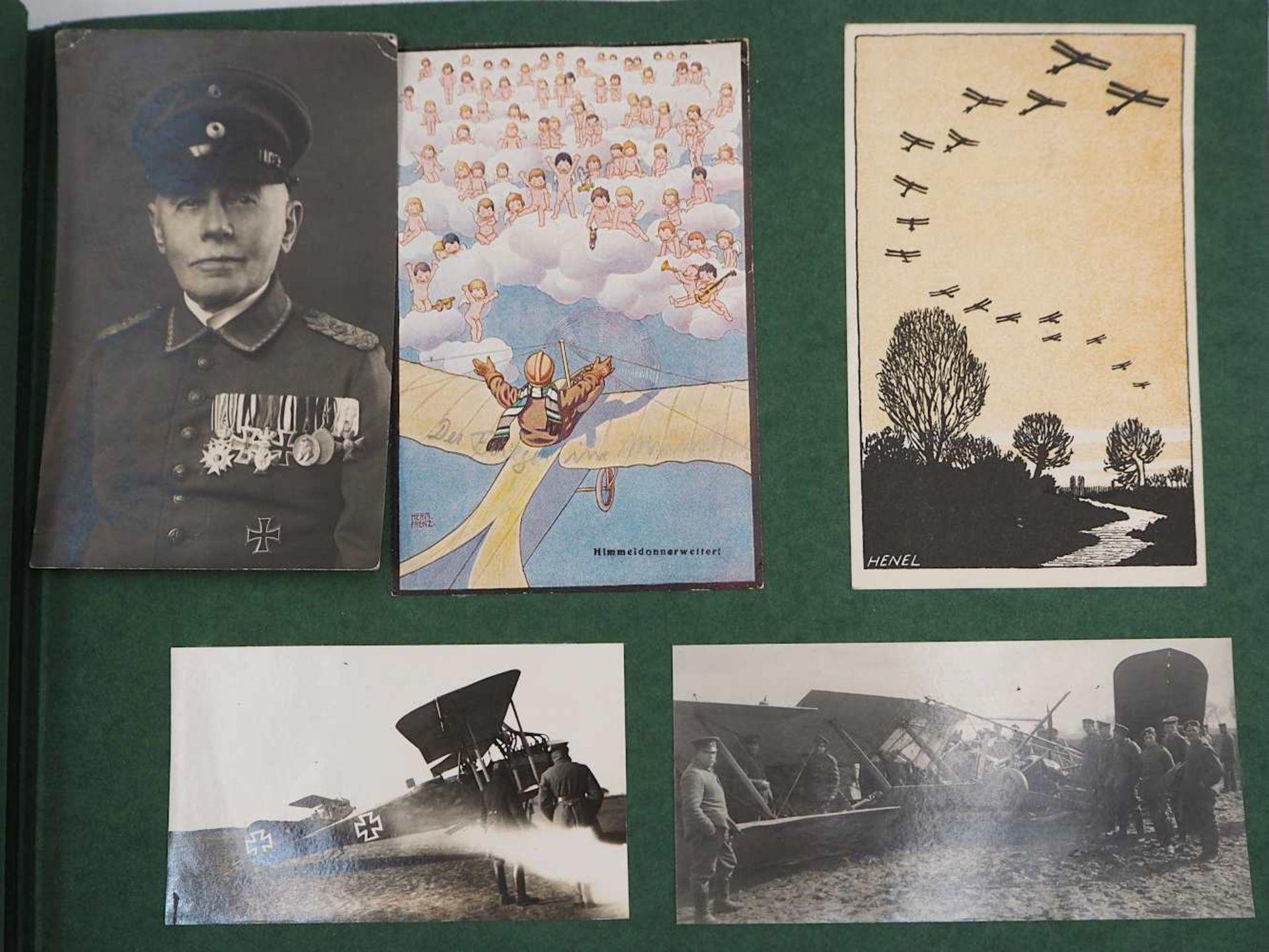 """1 Konv. Fotoalben 1./2. WK. u.a. mit Beschriftungen: 3 Alben """"Meine Kriegserinnerungen - Bild 3 aus 4"""