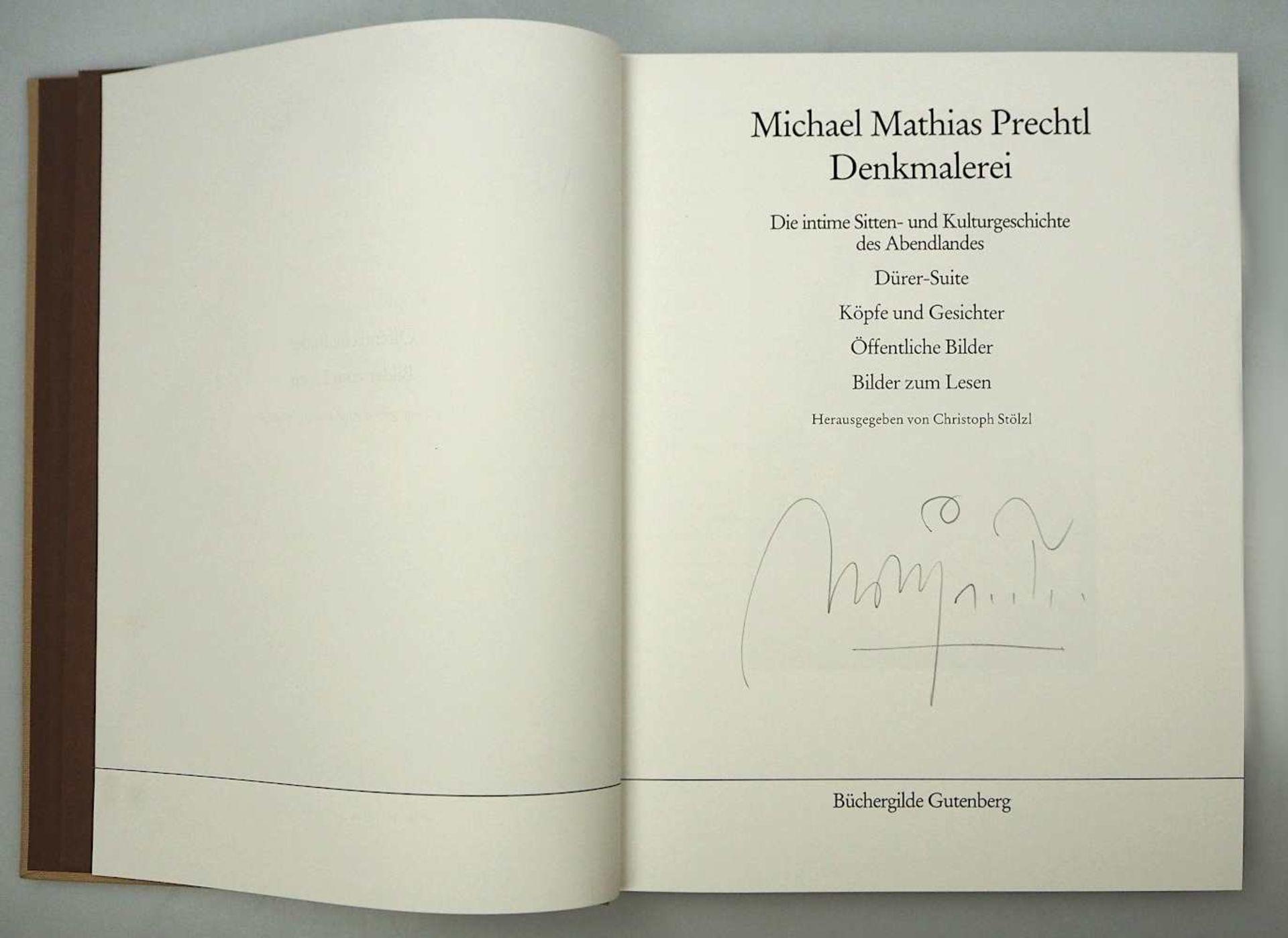 1 Sammlung Kunstbücher mit dem Schwerpunkt Michael Mathias PRECHTL (wohl 1926-2003) z.T. mit Or - Bild 9 aus 11