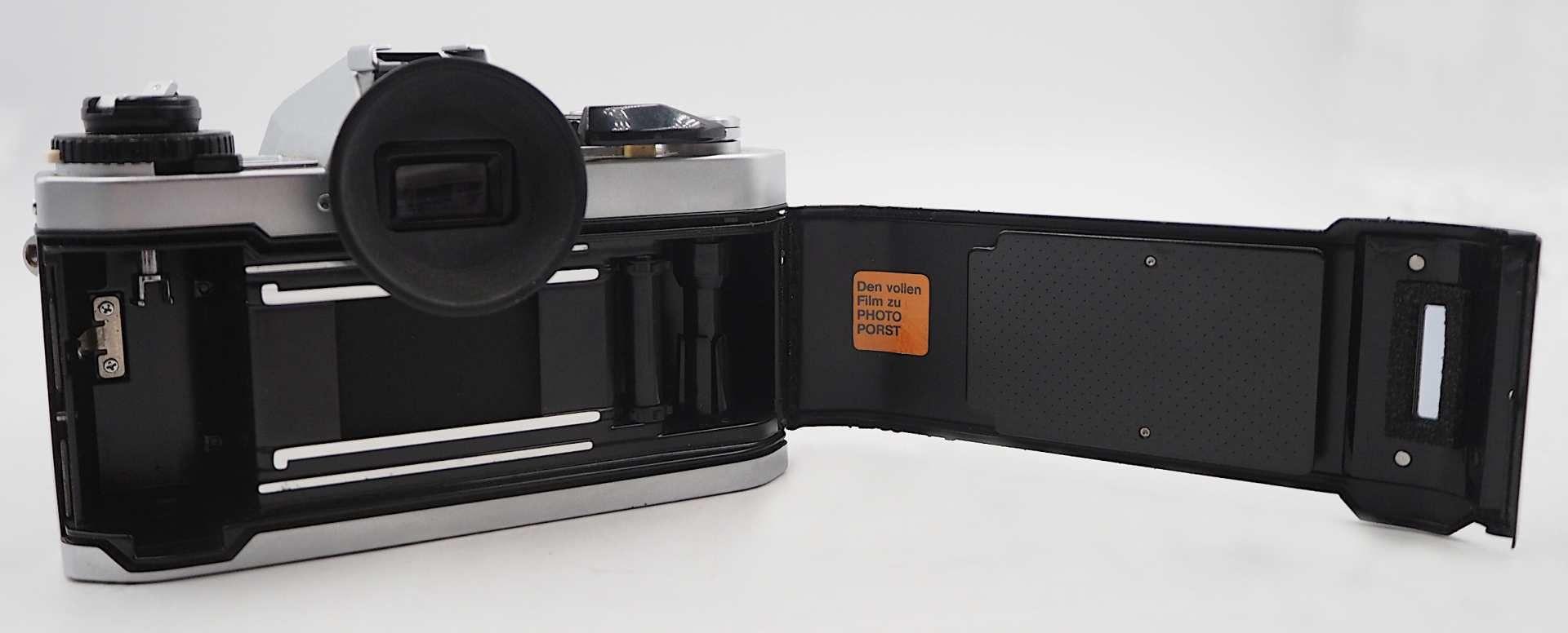 """1 Fotoapparat PORST """"CR-3 Automatic"""" mit Objektiv PORST """"Unizoom 1:3,5-4,5/35-70mm Mac - Bild 6 aus 6"""