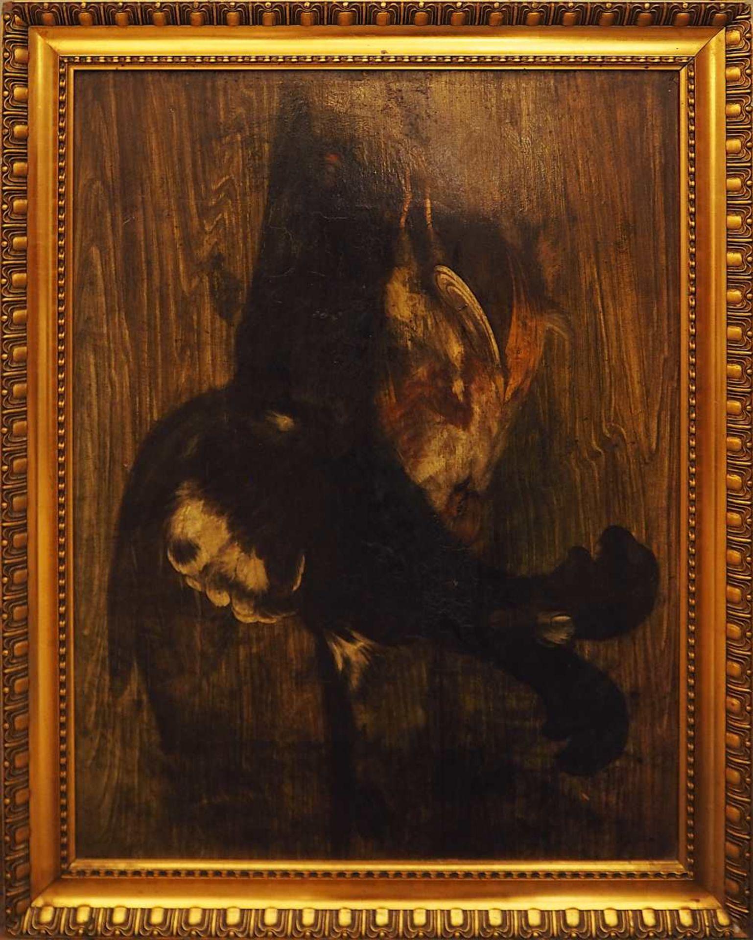 """1 Konv. Ölgemälde 20. Jh. versch. Künstler und Motive, z.T. unsigniert u.a. """"Blumen - Bild 6 aus 6"""