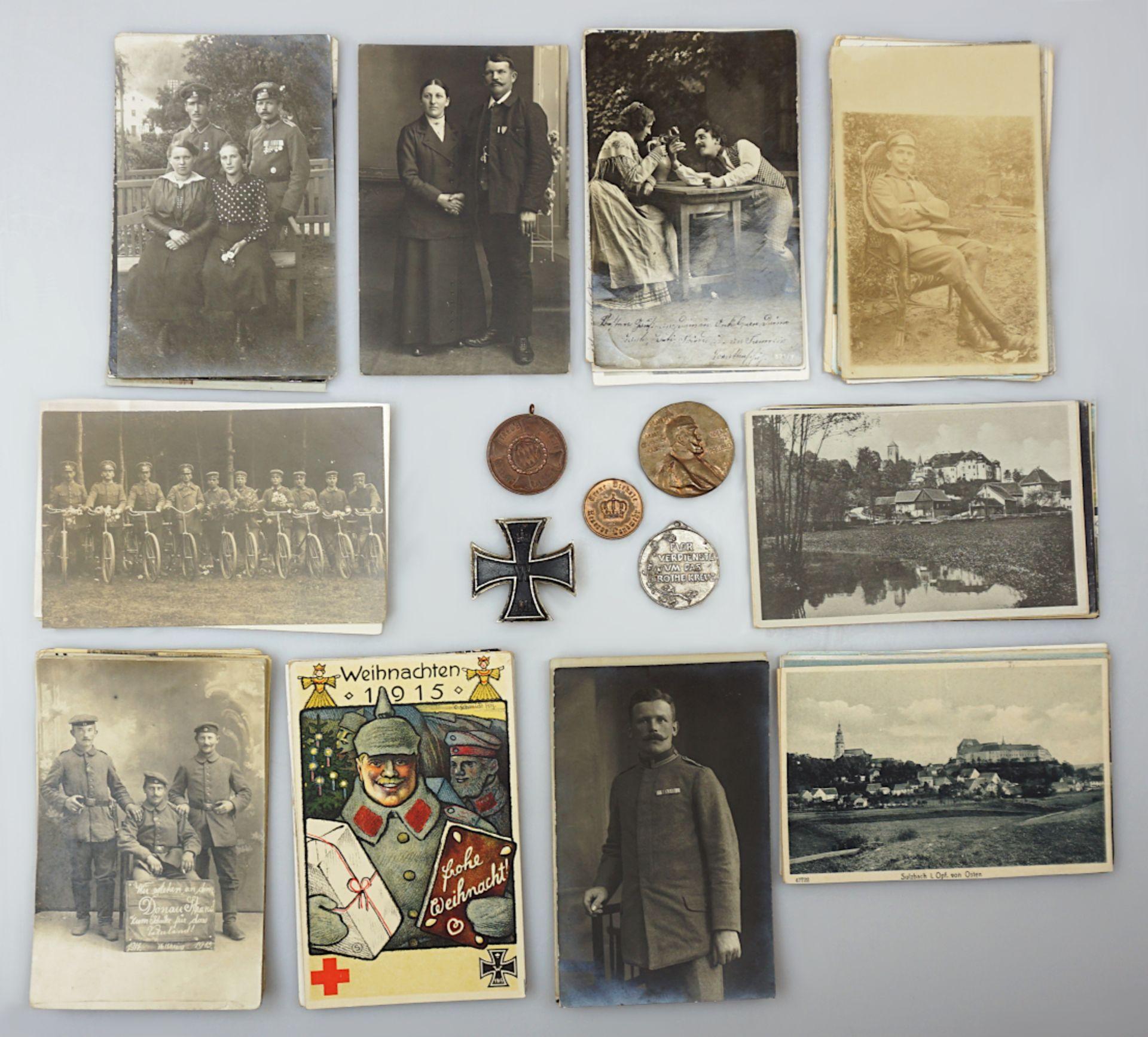 1 Konv. Militaria des Feldwebel/Oberleutnant Johann Michael KÖGLER (wohl *1891), 1./2. WK: - Bild 6 aus 6