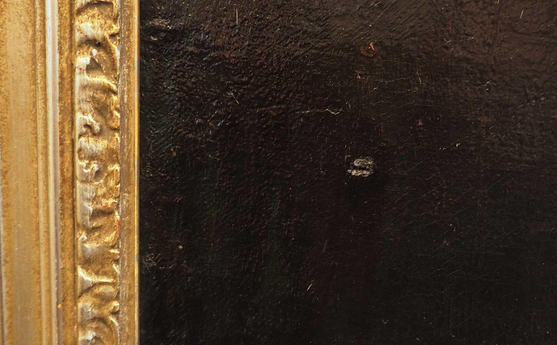 """1 Ölgemälde R.u. sign. IVERSEN (wohl Helene I. 1870 bis ca. 1930), """"Stillleben mit Apfelblüte - Bild 7 aus 8"""