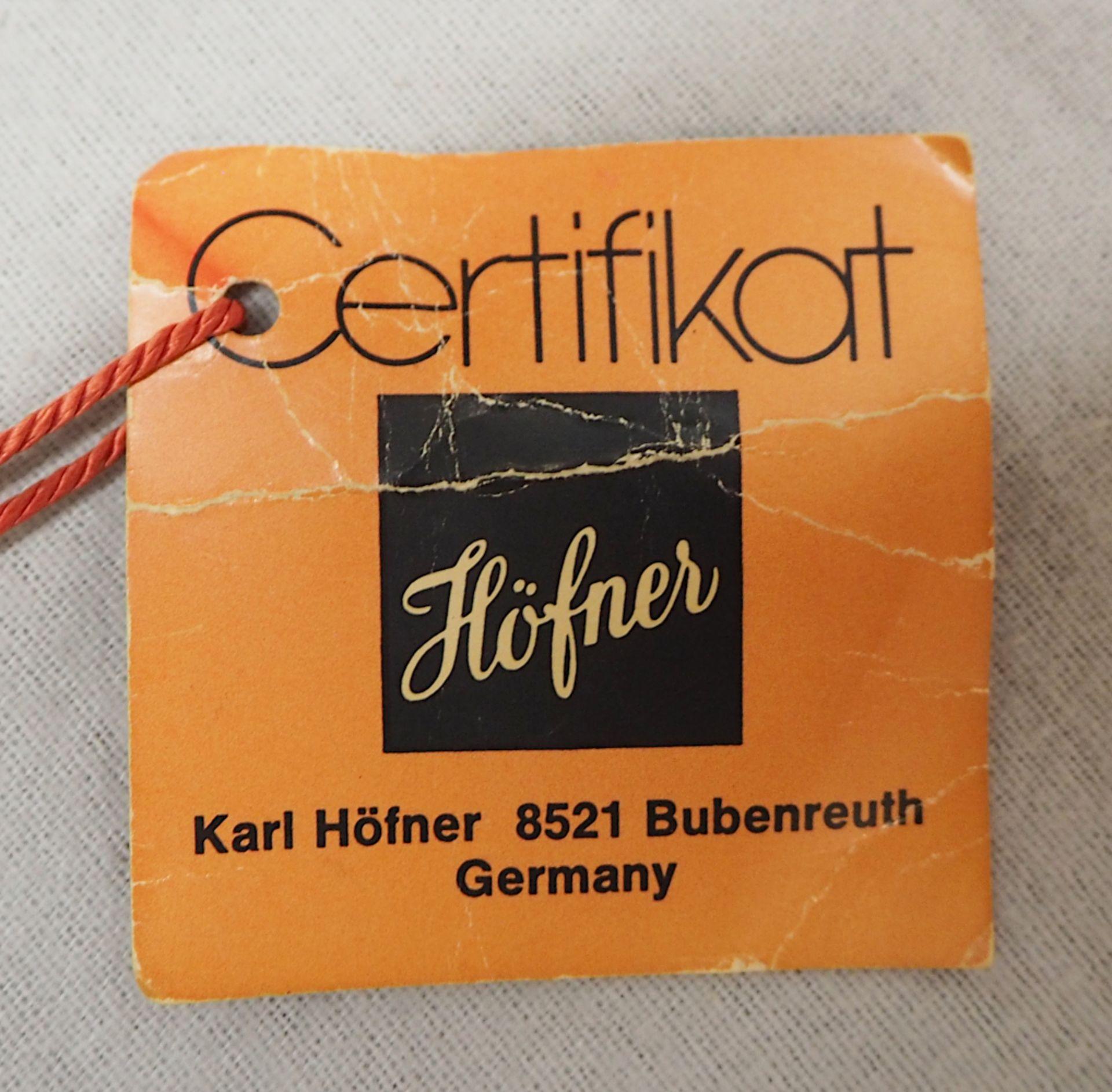 1 Konzert-Gitarre HÖFNER Modellnummer: 4840, wohl z.T. Rosenholz min. intarsiert auf - Bild 2 aus 8
