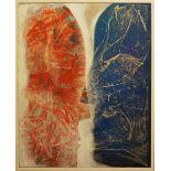 """3 Werke der Künstlerin Annette ENGERER (wohl *1954) z.T. bez. """"Verwandlung IV"""" u.a.,"""