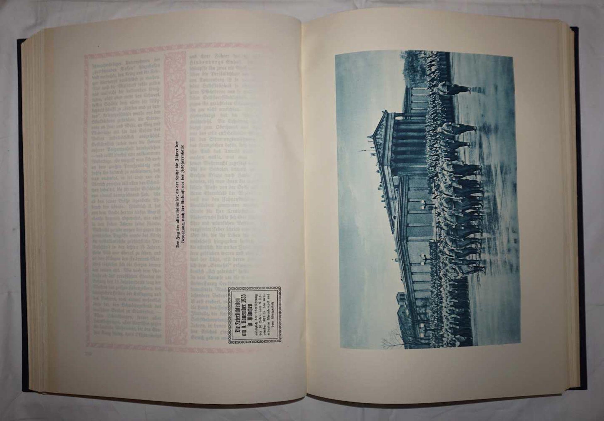 """1 Buch """"Deutsche Gedenkhalle/Das Neue Deutschland"""" Hrsg. General D. Inf. A.D. von EISENHART ROTH - Bild 2 aus 3"""