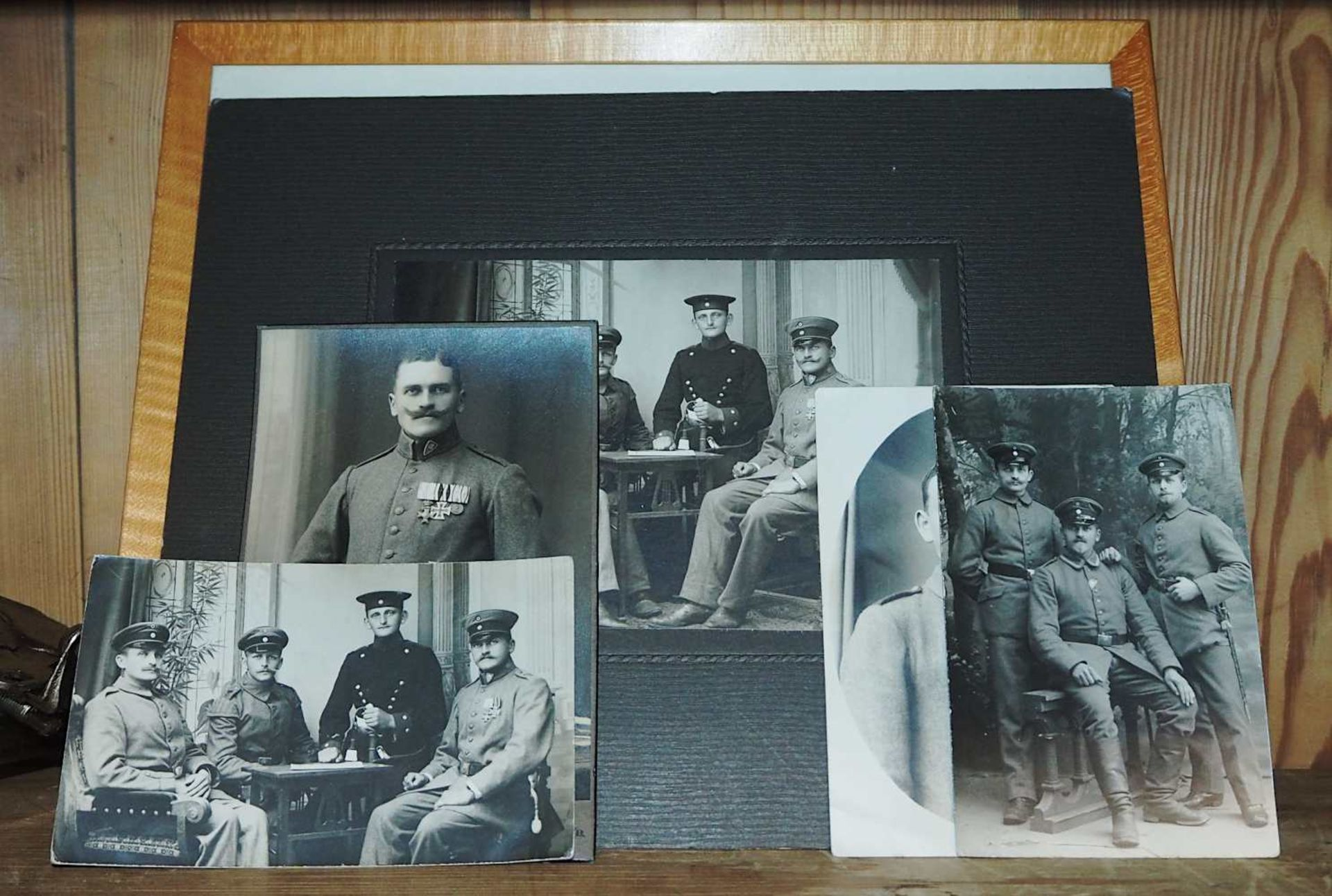 1 Konv. Militaria des Feldwebel/Oberleutnant Johann Michael KÖGLER (wohl *1891), 1./2. WK: - Bild 4 aus 6