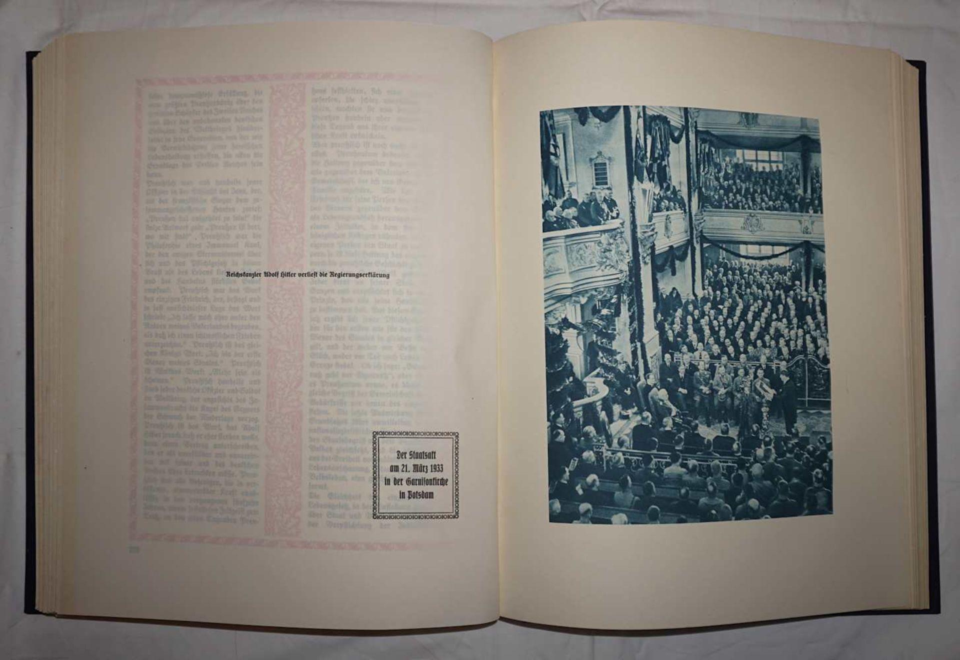 """1 Buch """"Deutsche Gedenkhalle/Das Neue Deutschland"""" Hrsg. General D. Inf. A.D. von EISENHART ROTH - Bild 3 aus 3"""