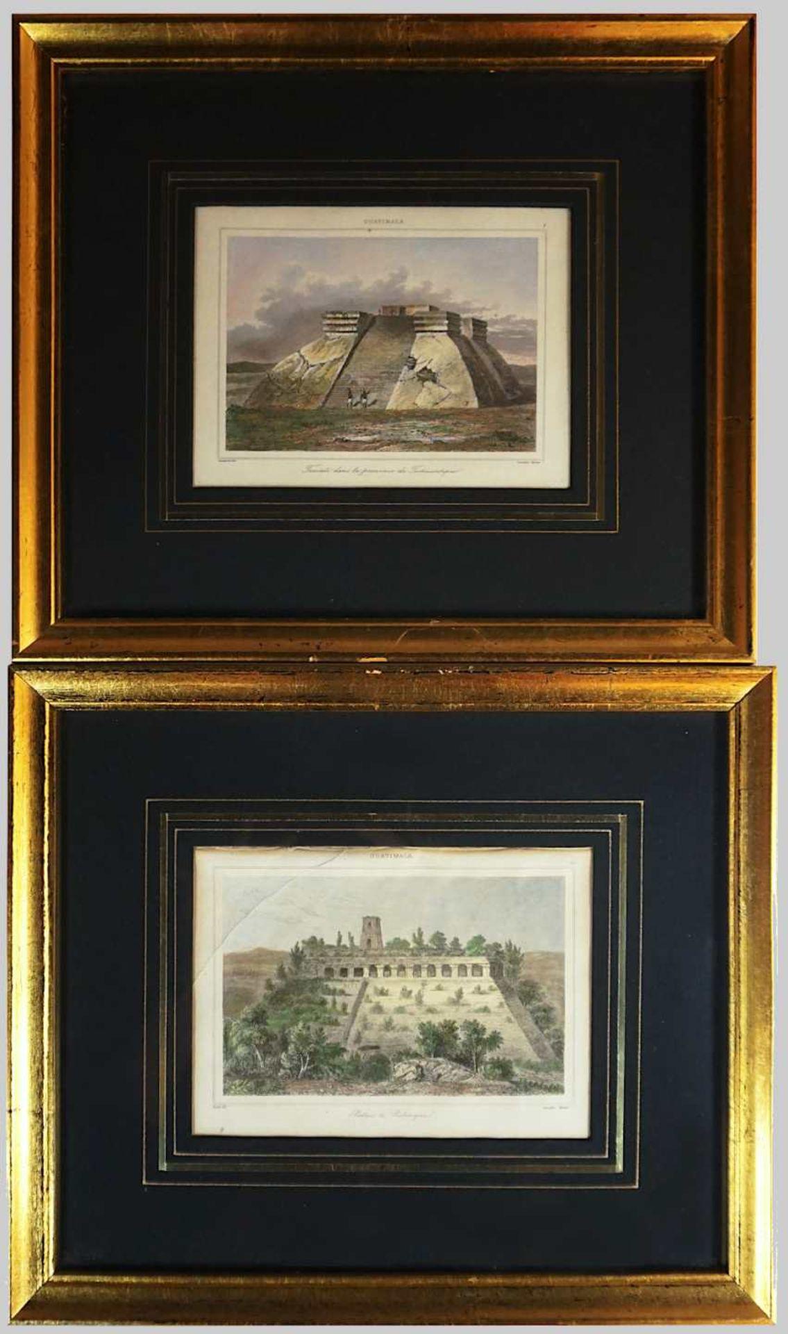 """3 Pendants Graphiken 2. Hälfte 19. Jh.: 2 Farblithographien """"Plate 21, Cassell's Book - Bild 3 aus 3"""