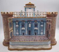 """1 Kerzenleuchter VILLEROY & BOCH """"Belvedere"""" nach dem Vorbild des Castel Nuovo in Neapel <br"""