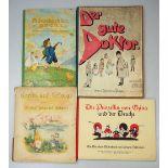 """1 Konv. Kinderbücher Anfang 20. Jh.: """"Der gute Doktor"""" von Max Nassauer, München woh"""