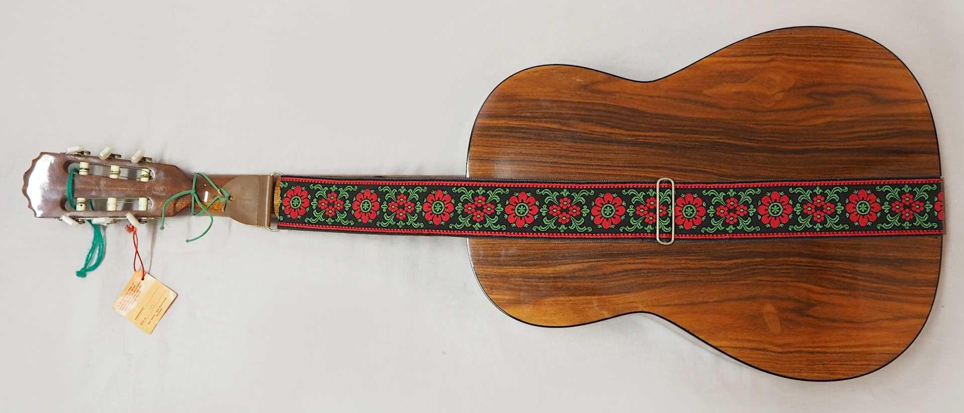 1 Konzert-Gitarre HÖFNER Modellnummer: 4840, wohl z.T. Rosenholz min. intarsiert auf - Bild 8 aus 8