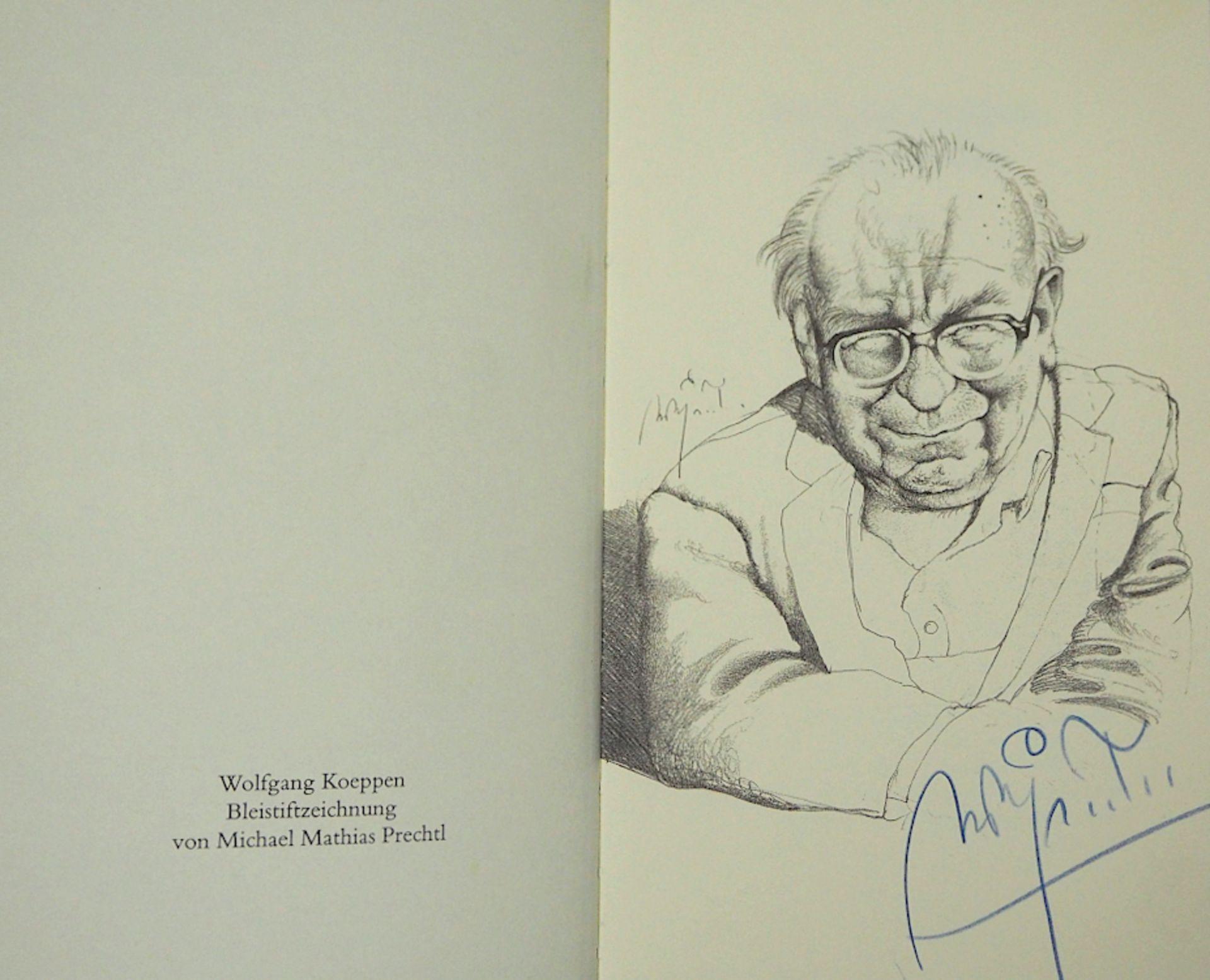 1 Sammlung Kunstbücher mit dem Schwerpunkt Michael Mathias PRECHTL (wohl 1926-2003) z.T. mit Or - Bild 2 aus 11
