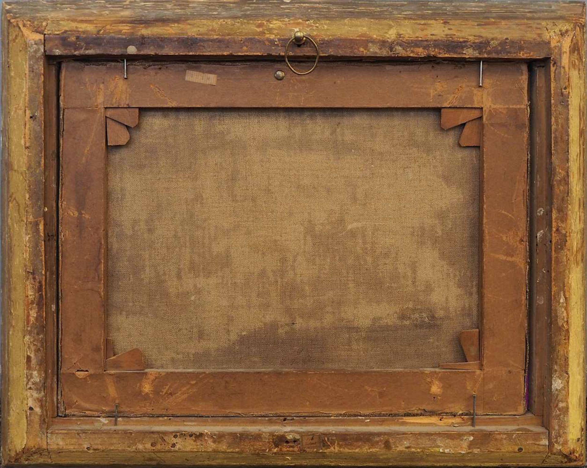 """1 Ölgemälde R.u. sign. J. SPERL (wohl Johann S. 1840-1914), """"Blick in die Scheune"""", - Bild 5 aus 8"""